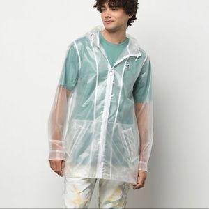 VANS Westwind Men's Jacket Transparent White